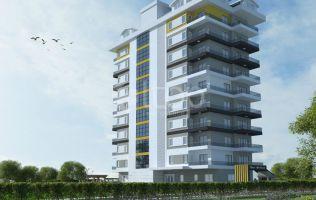 Квартиры в Алании с рассрочкой платежа в строящемся комплексе