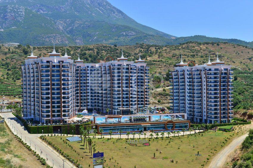 Квартира 1+1 в роскошном элитном комплексе Azura park, Махмутлар