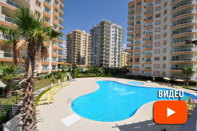 Красивая большая квартира в Алании, в центре Махмутлара