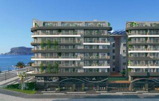 Строится новый жилой комплекс в Алании, Тосмур! Первая береговая линия