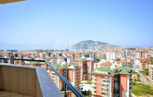 Меблированная квартира 4+1 в Алании с панорамным видом