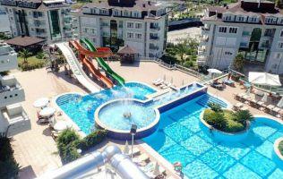 Роскошная квартира 3+1 в популярном комплексе в Аланье!