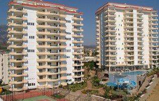 Большие апартаменты в Махмутларе с живописным видом
