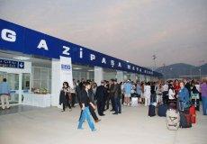 С начала этого года аэропорт в Газипаше принял 1 млн. пассажиров