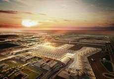 В третьем аэропорту Стамбула заработала система захода судов на посадку