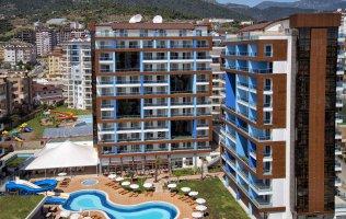 Апартаменты 1+1 в современном комплексе в Аланье