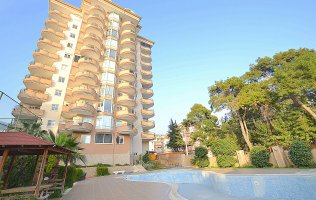 Апартаменты с панорамным видом в Джикджилли, Аланья