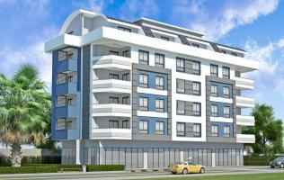 Новый жилой комплекс в районе Дамлаташ, Алания