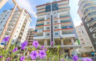 Новые апартаменты в Аланье 1+1 с мебелью, р-н Махмутлар