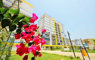 Новая квартира 2+1 в Аланье, р-н Махмутлар, жилой комплекс повышенной комфортности