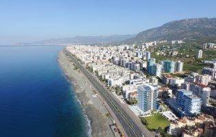 Новый проект на первой линии, квартиры с видом на море