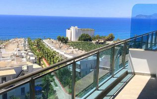 Квартира с видом на море в новом жилом комплексе, Каргыджак/Алания