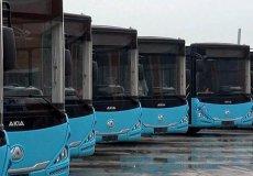 В аланийском районе Махмутлар продолжается обновление автобусного парка