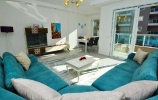 Новая квартира в Аланье 2+1 с мебелью, р-н Махмутлар