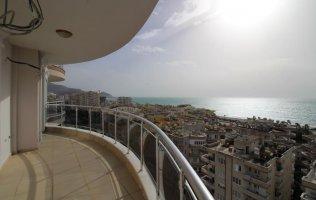Недорогая квартира в Аланье с панорамным видом на море