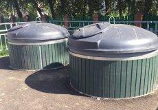 В Аланье продолжают устанавливать подземные мусорные баки