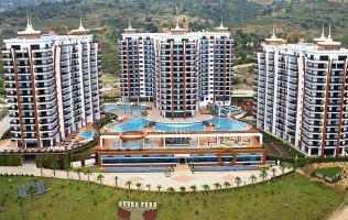 Двухкомнатные апартаменты в Аланье, в самом фешенебельном проекте