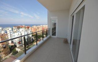 Новые апартаменты 2+1 с видом на море в Махмутларе, ул.Барбаросса