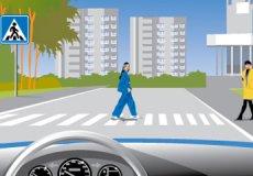 В Турции учат водителей пропускать пешеходов