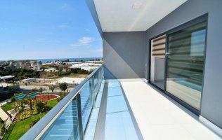 Меблированные апартаменты 2+1 в роскошном комплексе класса люкс в Алании  Каргыджак