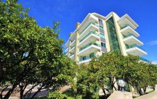 Новые апартаменты 1+1 с видом на море р. Кестель, Аланья
