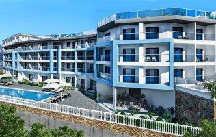 Квартиры в новом строящемся комплексе, Каргыджак/Алания