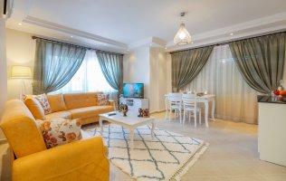 Апартаменты 1+1 с мебелью в  Алании район Джикджилли
