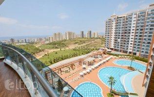 Аренда квартиры 1+1 в роскошном элитном комплексе Azura Park, Махмутлар
