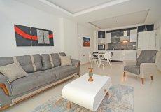 Квартира 1+1 с мебелью в современном комплексе в Алании Махмутлар - 5