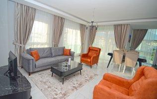 Новая просторная меблированная квартира 1+1 Кестель, Аланья