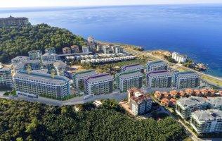 В Алании на берегу моря строится комплекс премиум класса