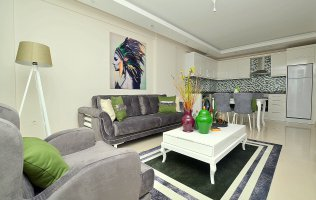 Квартира 1+1 с новой мебелью в Тосмуре Аланья