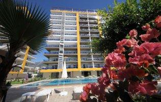 Прекрасные квартиры 1+1 в новом жилом комплексе в Аланьи, Махмутлар