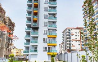 Очень выгодное предложение! Квартира 1+1 в новом комплексе от известного застройщика в Алании, Махмутлар