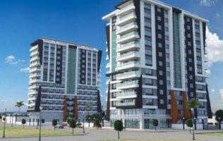 Квартира 3+1 с панорамными окнами и видом на море в новом комплексе в Махмутларе, Аланья