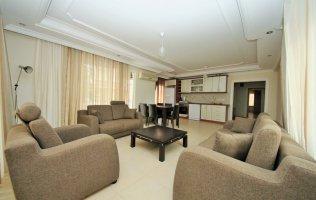 Уютная и просторная квартира 2+1 в Махмутларе, Аланья