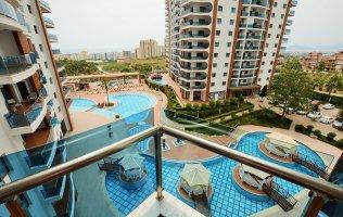 Аренда апартаментов 1+1 в Алании в элитном комплексе 5* отеля район Махмутлар