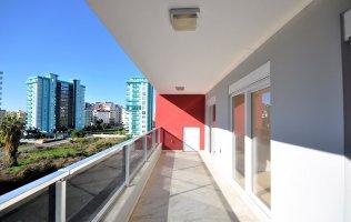 Новые апартаменты c двумя спальнями в Махмутларе