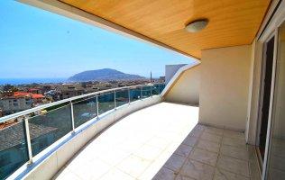 Шикарный пентхаус с потрясающим видом на Средиземное море в Алании по супер цене!!!