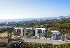 Новый эксклюзивный проект вилл с панорамным видом на Средиземное море в Алании, Каргыджак - 1