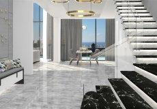 Новый эксклюзивный проект вилл с панорамным видом на Средиземное море в Алании, Каргыджак - 8