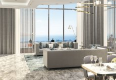 Новый эксклюзивный проект вилл с панорамным видом на Средиземное море в Алании, Каргыджак - 9