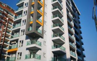 Недорогая квартира 1+1 в современном комплексе в Махмутларе, Алания