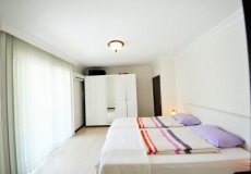 Просторная квартира 2+1 с видом на море в Алании, Махмутлар - 16
