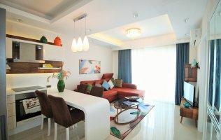 Меблированная квартира 1+1 в элитном комплексе р. Махмутлар в Алании