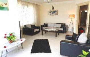 Трехкомнатная квартира с отдельной кухней по очень привлекательной стоимости в Аланье, район Дамлаташ