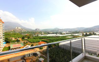 Квартиры с видом на горы в в комплексе с хорошей инфраструктурой в Махмутларе