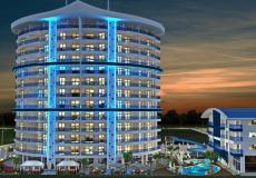 Новая квартира 1+1 в комплексе с богатой инфраструктурой в Алании, Махмутлар - 1