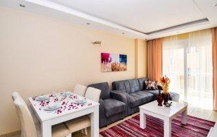 Недорогая меблированная квартира 1+1 район Махмутлар в Алании