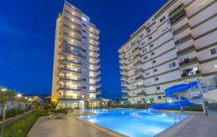 Квартиры в Махмутларе в комплексе с инфраструктурой по выгодной цене!!!